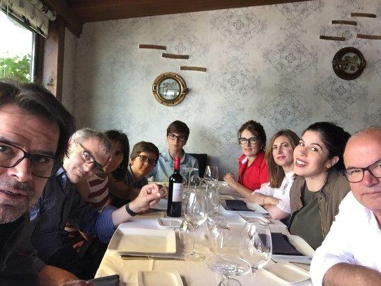 La Venta de Castaneda: Angel FERSAN con parte sede su familia, devuelta de Santander hacia Madrid el 23/07/17. Un gran