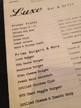 Luxe Bar & Grill, Birmingham, MI