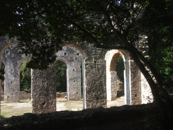 Butrint, Albanien: The Byzantine church 3