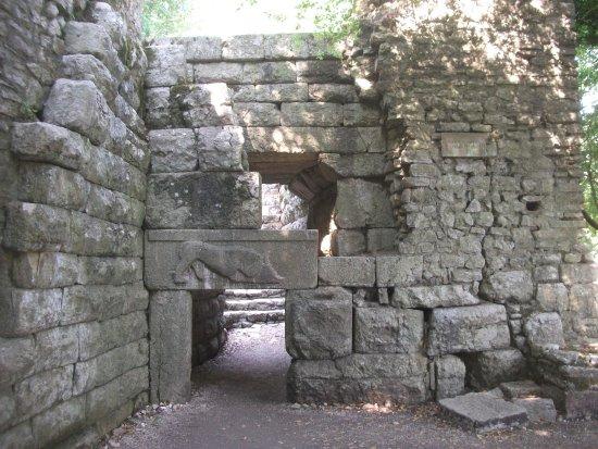 Butrint, Albanien: The Lion Gate
