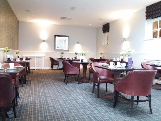 Eddleston, UK: Breakfast room