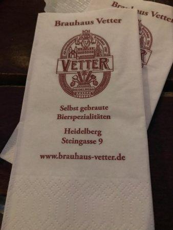 Vetter's Alt Heidelberger Brauhaus : photo1.jpg