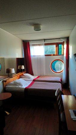Vantaa, Φινλανδία: Circular window - like in a plane