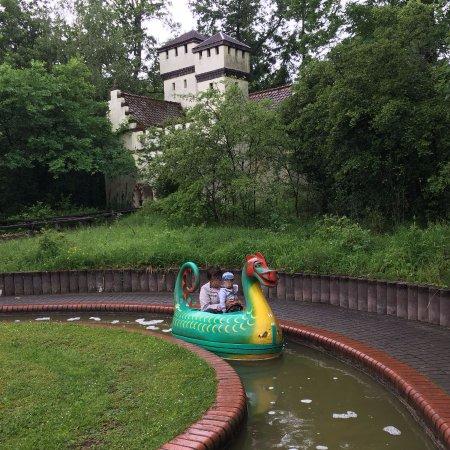Bad Konigshofen, เยอรมนี: Drachenboot