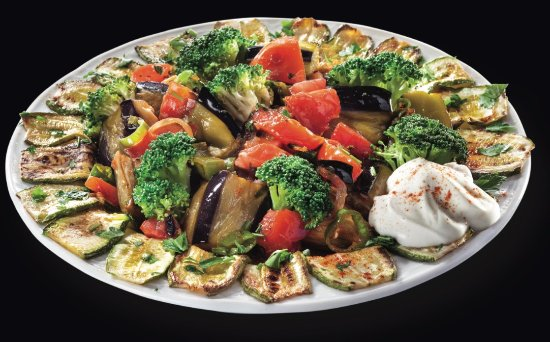 Nea Smirni, Yunanistan: grilled vegetables