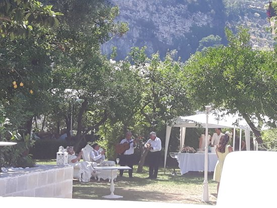 Matrimonio in giardino picture of artis domus relais sorrento