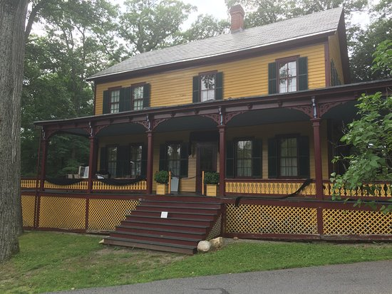 Wilton, Estado de Nueva York: Grant Cottage unchanged since 1885