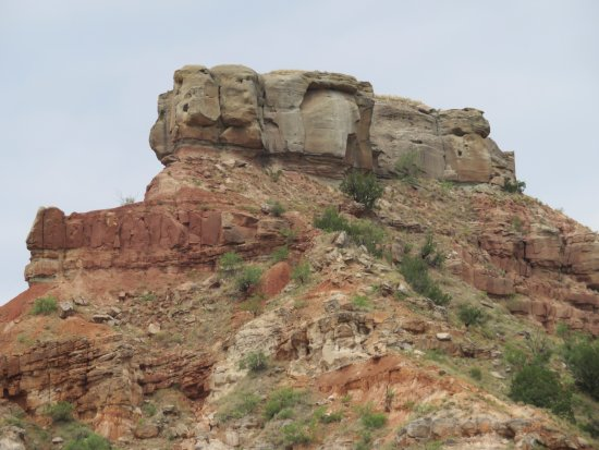 Palo Duro Canyon State Park: Mother Nature is very creative.