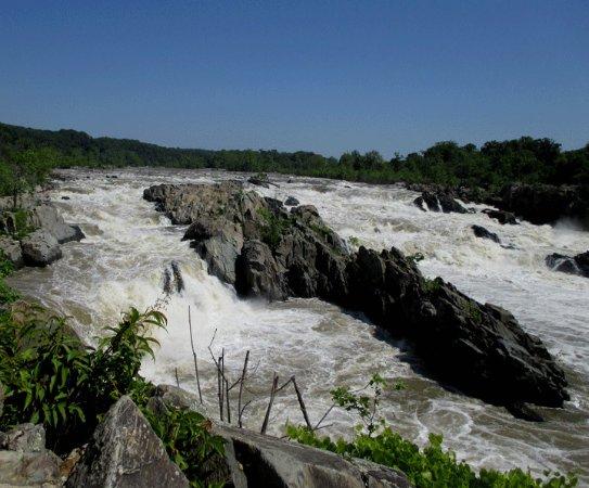 McLean, Virginie : Great Falls Overlook Number 1