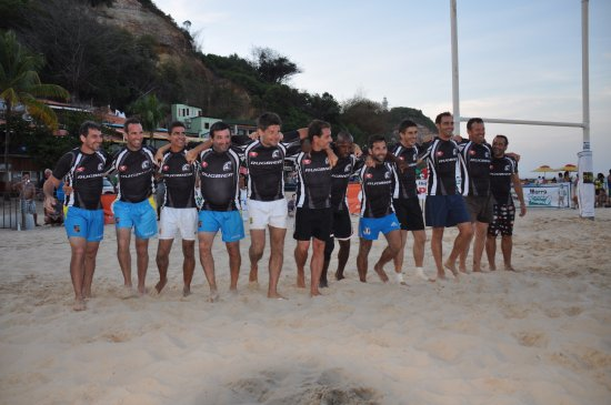 Morro de Sao Paulo Beach Rugby