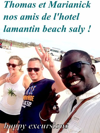 Mbour, Senegal: happy excursions senegal Emile et Marshall