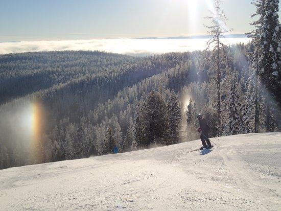 Silver Star, Canada: SilverStar Ski Resort silver fire