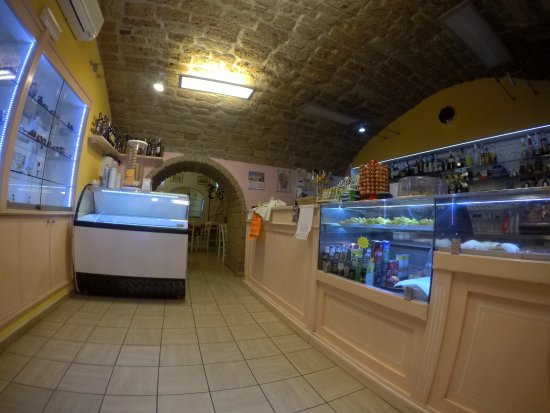 Sovana, Włochy: bar