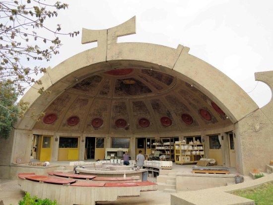 Mayer, AZ: Ceramic Bell half dome