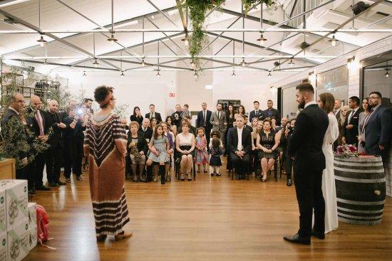 Collingwood, Australia: Onsite wedding ceremony