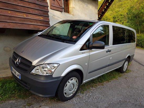 Annecy-le-Vieux, Francia: van Mercedes 8 places