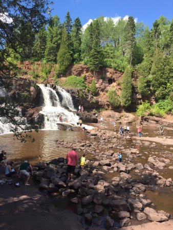 Two Harbors, MN: Cascata