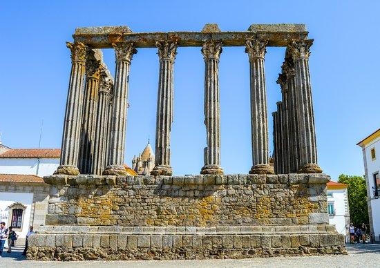 Templo Romano de Évora (Templo de Diana)照片