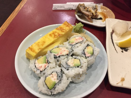 Novi, Μίσιγκαν: California roll and tamako