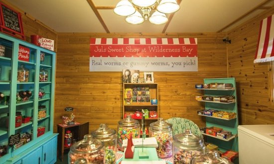 Watersmeet, มิชิแกน: Candy and Ice Creak Shop