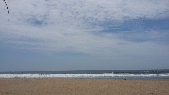 Playa Larga : Vista desde el local de comida