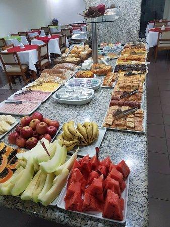 Marilia, SP: Café da manhã