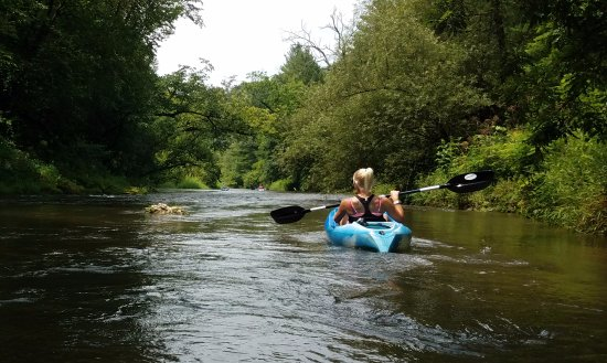 River Falls, WI: Beautiful day on the river