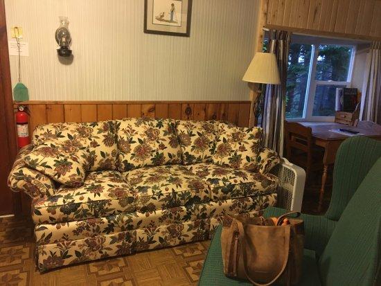 Eagle Harbor, Мичиган: nice couch cabin 8