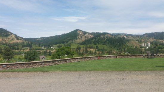 Leavenworth, WA: View from the parking lot