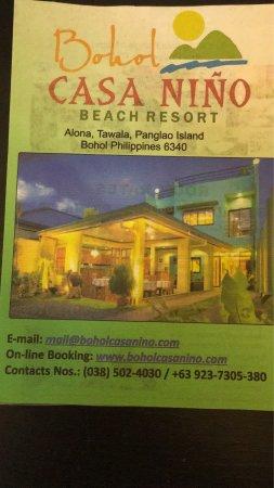 Bohol Casa Nino Beach Resort: photo1.jpg