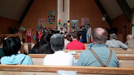 Moclips, WA: St. John's Chapel by the Sea (PCUSA) hosts the North Beach Singers Concert.