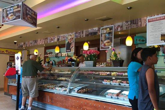 Schenectady, Нью-Йорк: Bakery counter