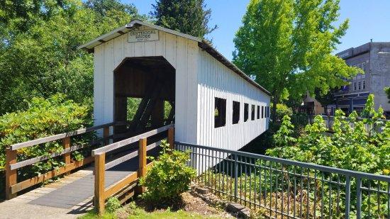 Dorena, OR: Centennial Bridge