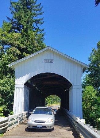 Dorena, OR: Mosby Creek Bridge