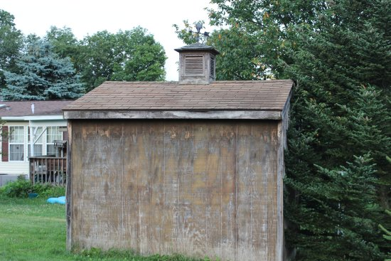 Bath, NY: old shed on property