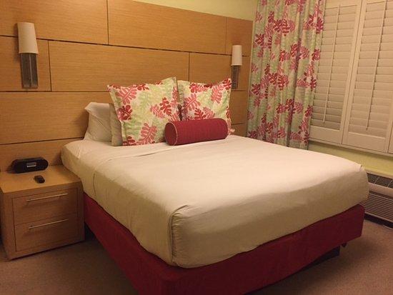 Bay Harbor Islands, Φλόριντα: Todos os quartos tem cama king