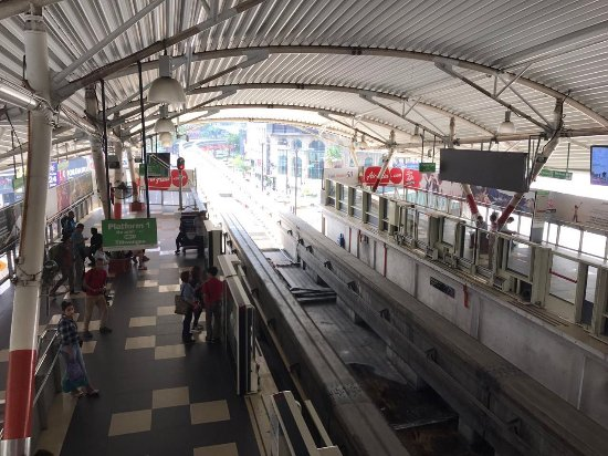My favourite mode of transport within KL city - RapidKL