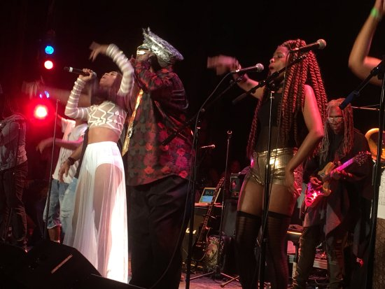 Beverly, MA: George Clinton & The Parliament Funkadelics performed at The Cabot in June 2017