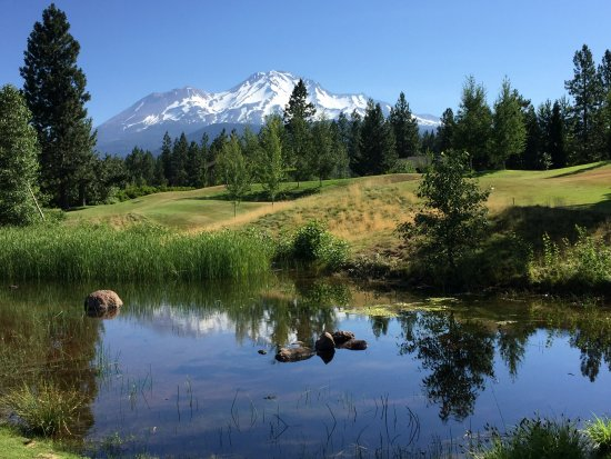 Mount Shasta Resort: Our breakfast view from the lodge dining room
