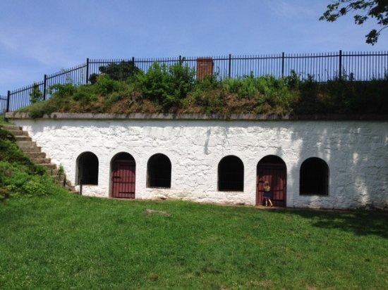 Marblehead, MA: Underground, Bombproof Troop Barracks