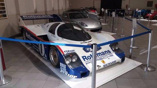 Franschhoek, South Africa: Porsche de competição que pertencia à equipe da marca alemã