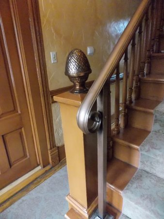 Philipsburg, MT: Stairs to second floor