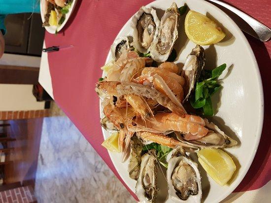 Casarza Ligure, Italy: Crudite