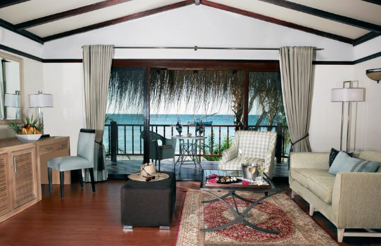 Bazaruto Island, Mozambique: Beach Villa Lounge And Deck