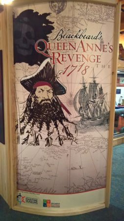 Beaufort, Carolina del Norte: Queen Anne's Revenge exhibit