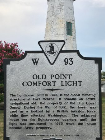 used monument sign old point comfort lighthouse hampton va top tips before you go