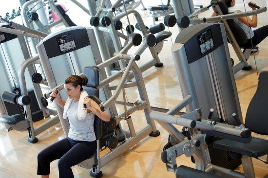 Nantong, China: Fitness Center