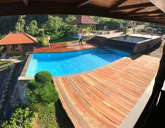 Banjar, Indonesia: swimming pool