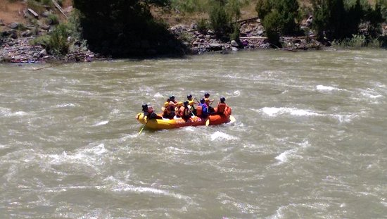 Gardiner, MT: Rafting with Paradise Adventure Company