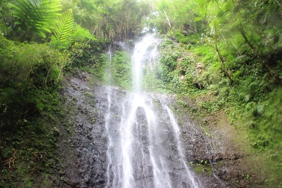 Banjar, Indonesia: secret waterfall